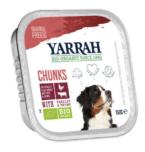 Yarrah - Natvoer Hond Kuipje Chunks met Rund Bio