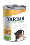 Yarrah - Natvoer Hond Blik Chunks met Kip Bio - Yarrah - Natvoer Hond Blik Chunks met Kip Bio 6 x 820 gr