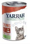 Yarrah - Natvoer Kat Blik Chunks met Kip & Rund Bio 12 x 405 gr