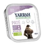 Yarrah - Paté Hond Kuipje met Kalkoen Bio 12 x 150 gr