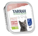 Yarrah - Paté Kat Kuipje met Zalm Bio 16 x 100 gr