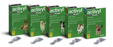 Activyl Tick Plus spot-on hond
