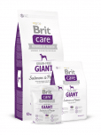 brit care giant graanvrij droogvoer zalm aardappel hond