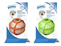smart treat ball hond