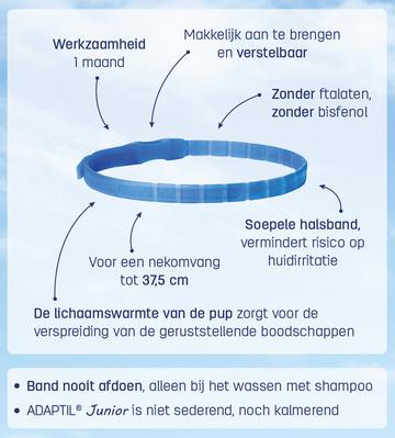 Adaptil junior halsband - dierenapotheek.nl