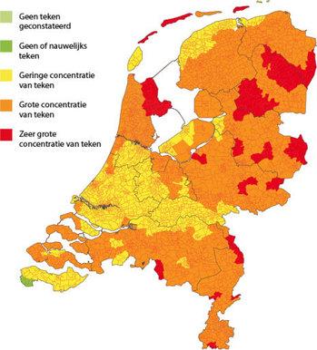 teken in nederland